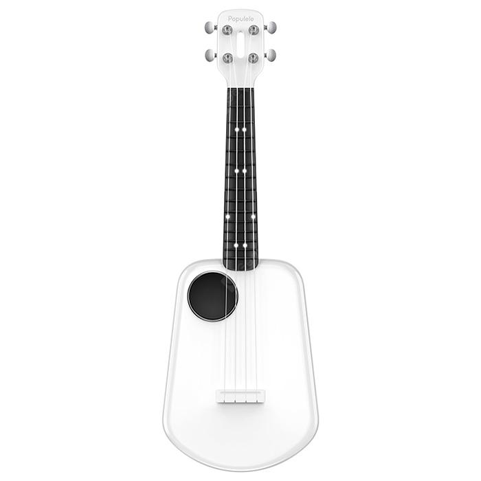 Populele 2 LED Bluetooth USB Smart Ukulele from Xiaomi youpin - WHITE