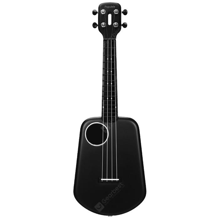 Populele 2 LED Bluetooth USB Smart Ukulele from Xiaomi youpin - Black