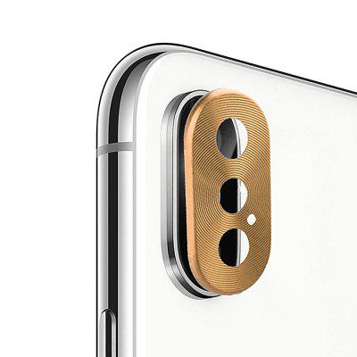 Hat - Prince Rear Camera Metal Lens Film voor iPhone XS Max