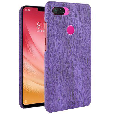 Luanke Wood Grain Phone Case for Xiaomi Mi 8 Lite / Youth / X