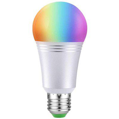 Lampadina WiFi Light 11W LED Lampadina Colorata RGBW Color APP per telefoni cellulari Dimmerazione lampada Alexa