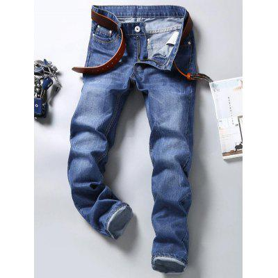 Man Business Fashion Trousers Youth Casual Jeans