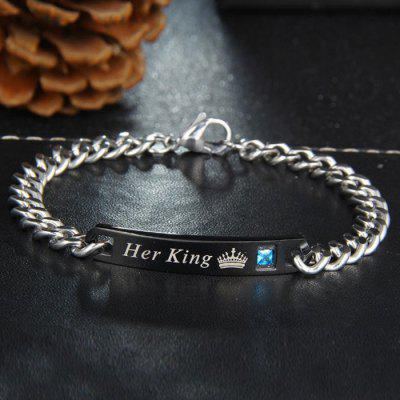 Hand Jewelry Her King His Queen Couple Bracelet