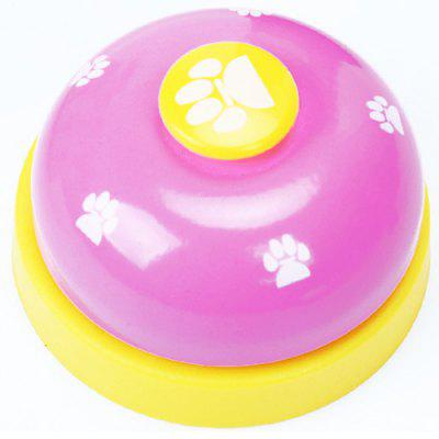 Bell Device Training Dog Supplies Vocal Footprints Paw Print Dog Training Dog Cat Toy Pet Ring