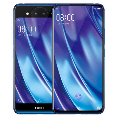 Vivo NEX Dual Screen 4G Phablet Global Version – BLUE 396286001 10GB RAM 128GB ROM Triple Camera Fingerprint Sensor