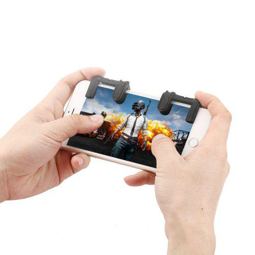 gocomma Smart Phone Shooter Controller Mobile Game Fire Button Aim Key