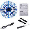 K36 UFO Induction Quadcopter - BLUE