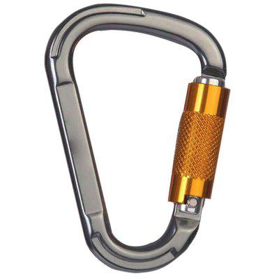 Outdoor Climbing Safety Automatic D-type Master Lock Fast Hanging Carabiner