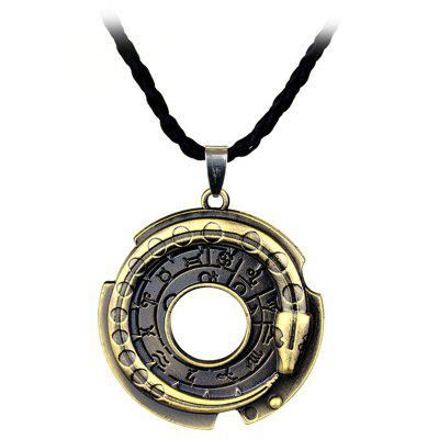 Creative Zinc Alloy Amulet Men Necklace