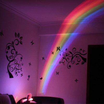 Egg-shaped Rainbow Projection Colorful LED Creative Night Light