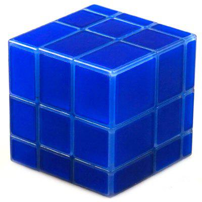 Qiyi Blue Luminous Mirror Third-order Cube