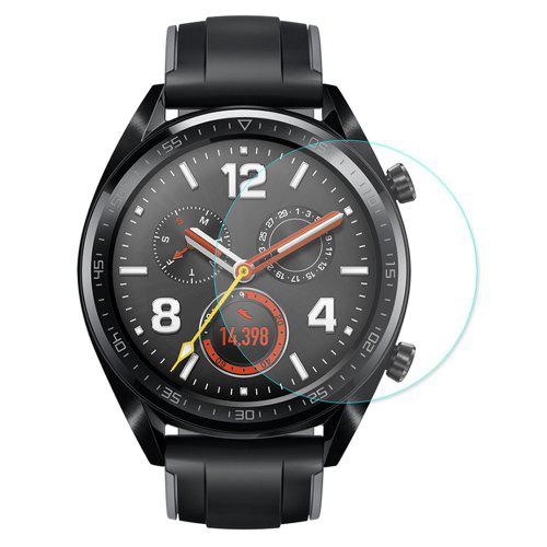 Hat - Prince 0.2mm 9H 2.15D Arc Edge Tempered Glass Film for HUAWEI Watch GT 2PCS