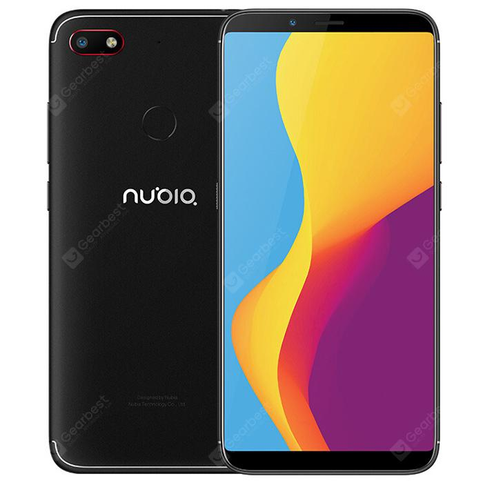 Nubia V18 4G Phablet Global Version Black 4+64GB