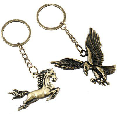 Valentinstag-Serie Eagle Horse Keychains