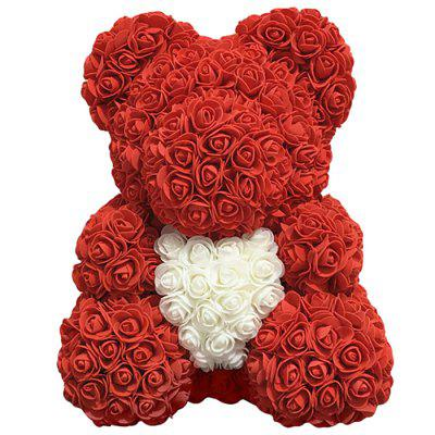 Rose Bear Love Flower Doll