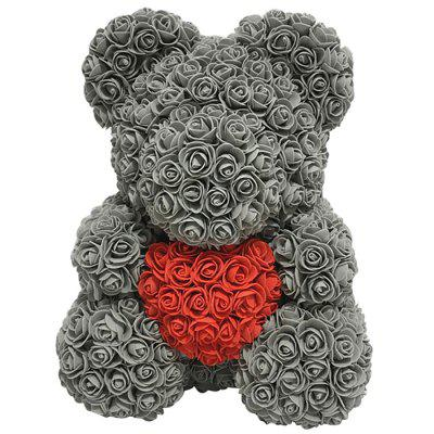 Love Flower Rose Bear Toy 40cm