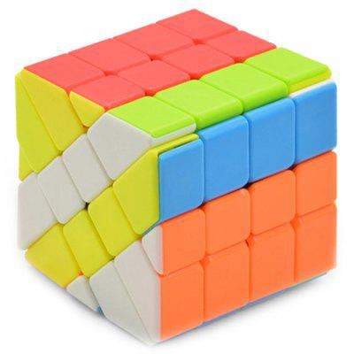 No Sticker 4 x 4 x 4 Shift Magic Cube Educational Toys
