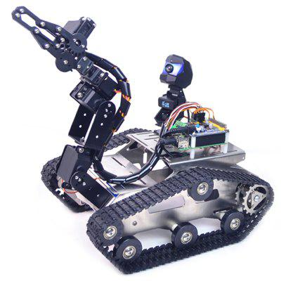 XiaoR_GEEK Raspberry Pi 3B + WiFi Bluetooth-videó Smart Car Robot Suite