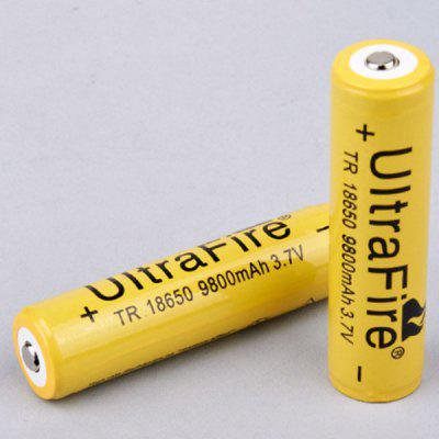 18650 Lithium Battery 9800mAh Large Capacity 3.7V Strong Light Flashlight Rechargeable Battery