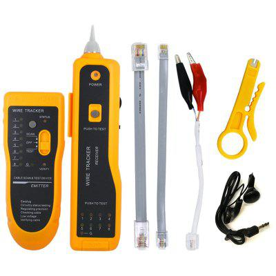 UTP STP Cat5 Cat6 RJ45 Line Finder Telephone Wire Tracker Diagnose Tone Tool Kit LAN Network Cable Tester