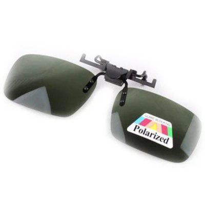 Glasses Clip Driver Goggles Car Sunglasses Anti-glare Mirror Driving With High Beam Night Vision Myopia Polarizer