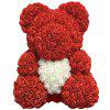 Love Flower Rose Bear Toy 40cm - BLUE