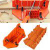 Multifunction Woodworking Hand Tools Home DIY Wood Planer Hand Saws Clamped Box - PUMPKIN ORANGE
