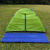 Aotu AT6240 Camping Wave Type Ultra-light Inflatable Cushion - BLUE