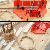 Multifunctionele houtbewerking Handgereedschap Home DIY Wood Planer Handzagen Clamped Box - SANDY BROWN