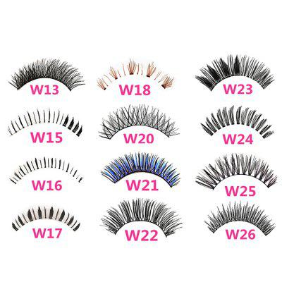 A Variety Of 5 Pairs Of Handmade Fine Hair Soft Eyelash Stems Japan And South Korea Natural Nude Makeup Realistic Hot Sale Batch