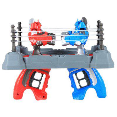 Double Battle Boy Toys Fingers Warrior Athletic Boxing Robot Manual Edition