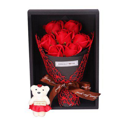 Creative Exquisite Roses Present Box