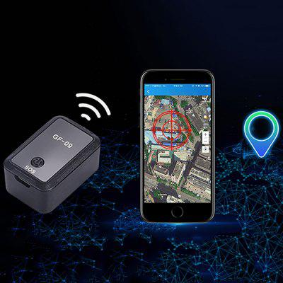 GF - 09 Strong Magnetic Adsorption Locator APP Control Micro Tracker Anti-lost Recording Support Beidou / GPS / WiFi / LBS