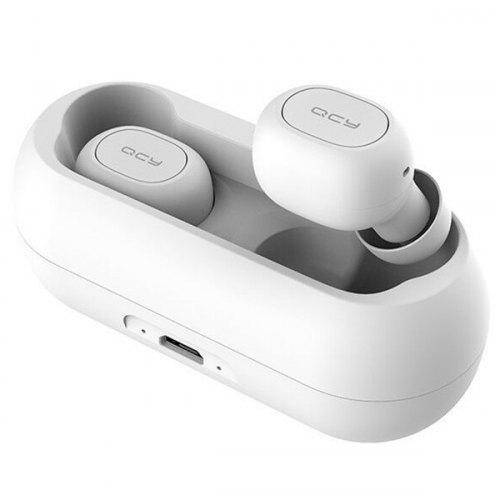 QCY T1C Mini Bluetooth 5.0 Wireless Music Earphones - WHITE