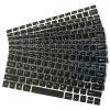 Multi-languages Silicone Keyboard Protective Film for Jumper Ezbook 3 pro - BLACK