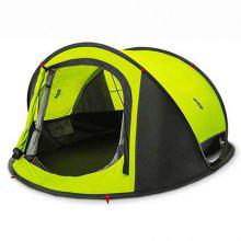 Gearbest price history to zaofeng Outdoor 3 - 4 People Double-layer Quick-opening Tent from Xiaomi youpin