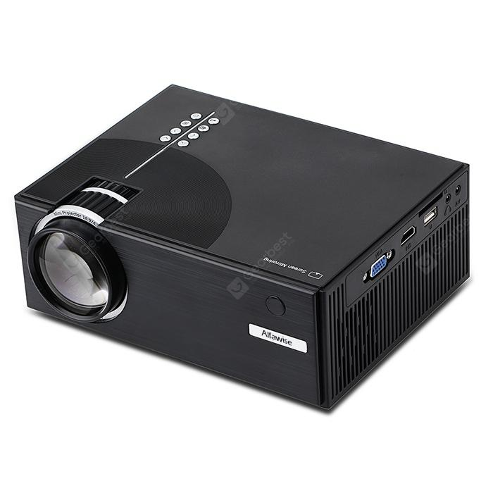 Alfawise A20 Home Smart Projector HD 1080P - Black Basic Version