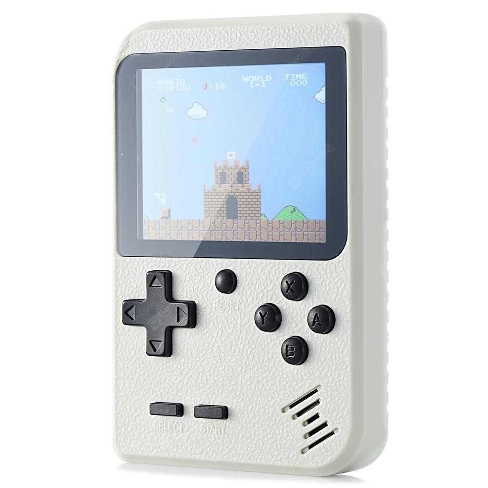 Gocomma Built-in 400 Classic Games Handheld Game Console - Crystal Cream