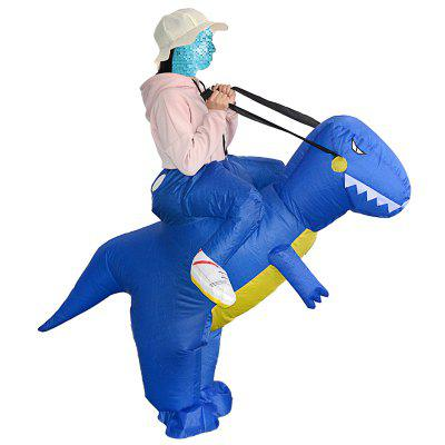 FZ1555D Adult Rider Dinosaur Inflatable Suit Props