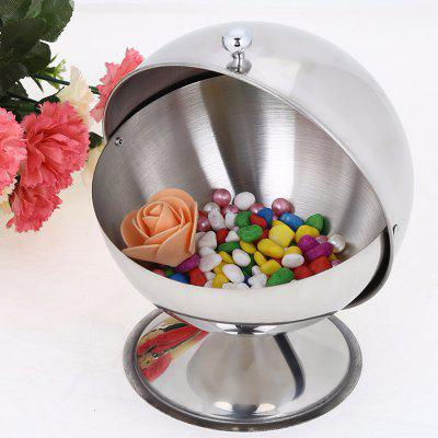 Stainless Steel Storage Sugar Bowl