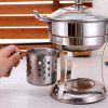 Stainless Steel Hot Pot Cookware Set - SILVER