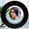 Round Magnetic Suspension Multi-function Photo Frame Light - BLACK
