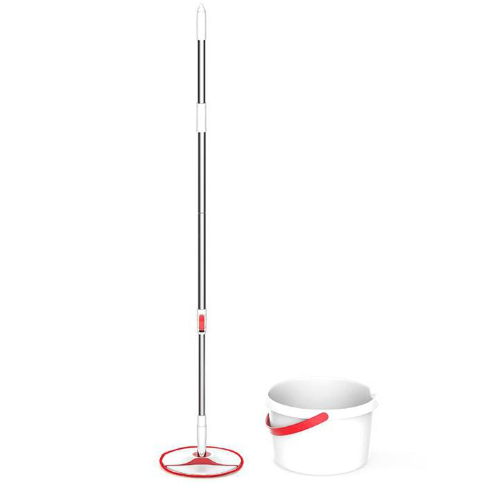 YD - 02 Handheld Rotary Mop Set from Xiaomi youpin - Bean Red