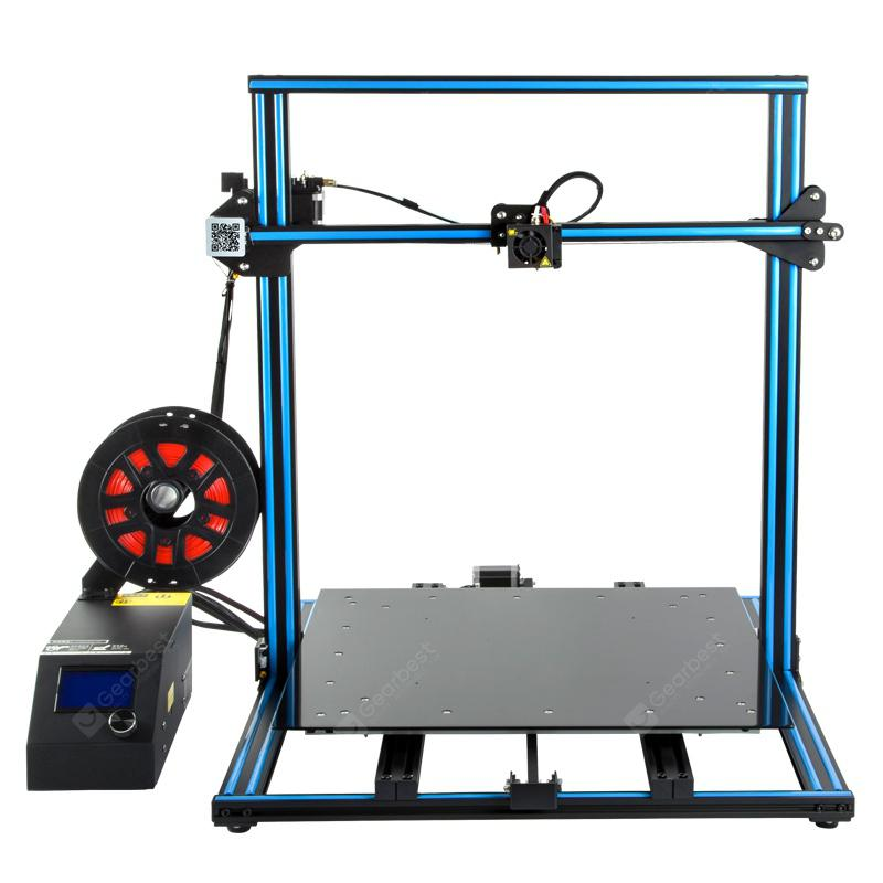 Creality3D cr - 10s5 500 x 500 x 500mm 3D Printer DIY Kit - Blue and Black EU