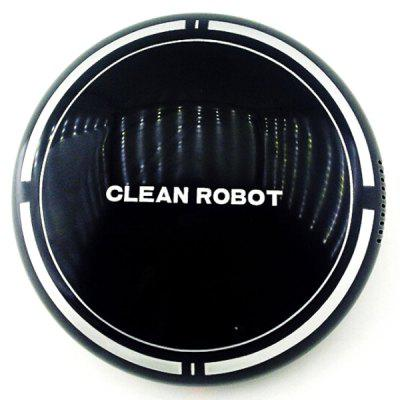 Cartoon Lazy Sweeping Vacuum Cleaner Robot