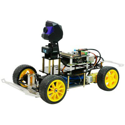 XIAOR - GEEK Unmanned Autopilot Machine Tracciamento visivo AI Smart Car TensorFlow Adatto per Raspberry Pi