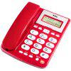 TCL HCD868 ( 202 ) TSD Fixed Corded Landline Telephone Hands Free Big Button Home / Office - RED