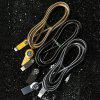 REMAX RC - 085i 8 Pin Anti-knot Charging Transmission Data Cable 100cm - GUNMETAL