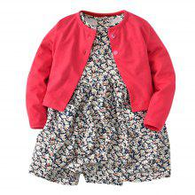 19F003 Baby Climbing Long Sleeve Jacket Two-Piece