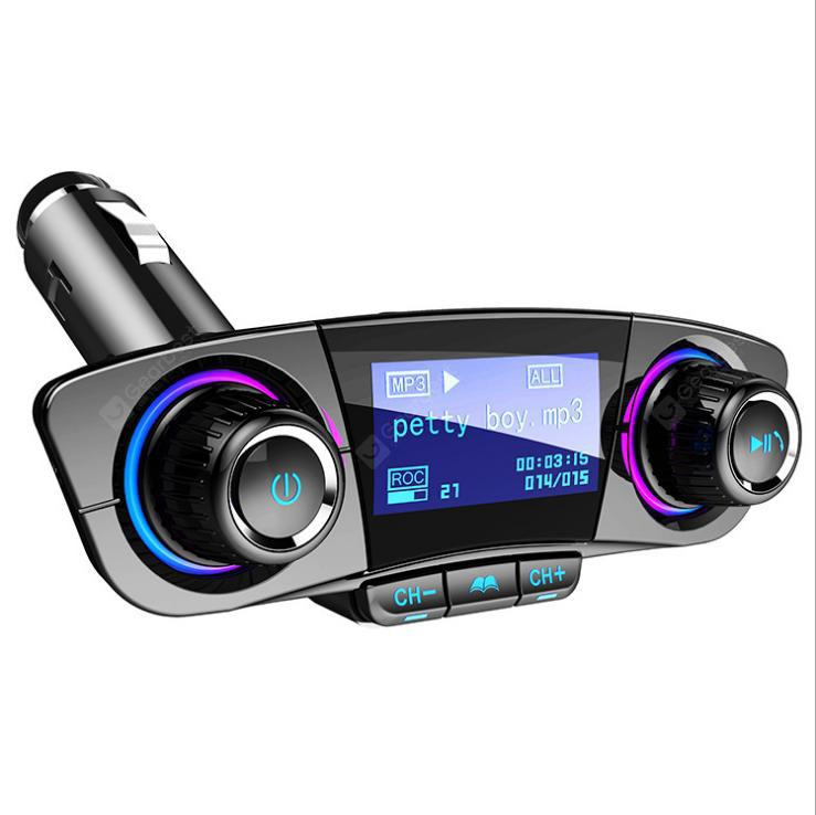 Car FM Transmitter BT Handsfree LCD MP3 Player Radio Adapter Auto Kit Charger